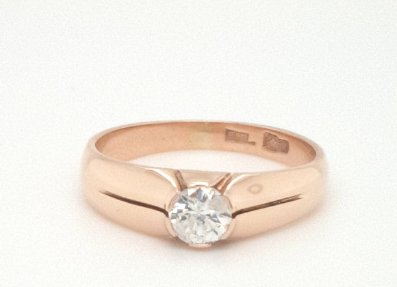 Russian Rose Gold 50 Points Diamond