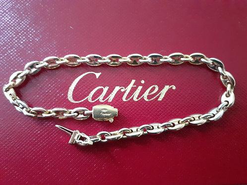 Cartier Mariner Two Colour 18ct Bracelet