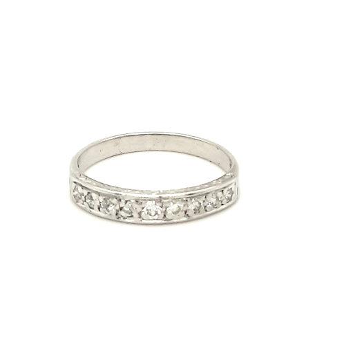 Vintage Style Diamond Ring 18ct Gold