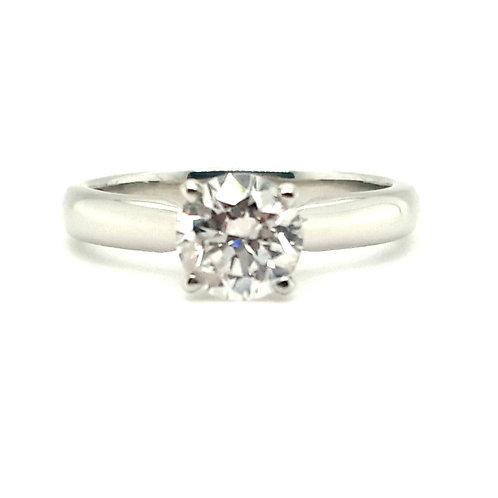 1.04 ct Diamond Platinum Solitaire