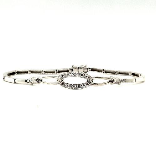 Fancy Diamond Bracelet 18ct Gold