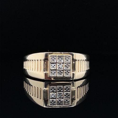 Signet Ring 9ct Yellow Gold
