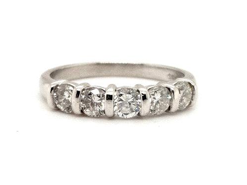 Diamond Eternity Ring set in Platinum