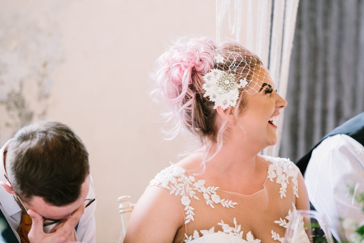 birdcage veil incorporating family heirloom - bespoke design by silver sixpence in her shoe