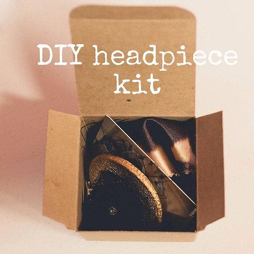 Headpiece Fascinator Making Kit Craft Kit