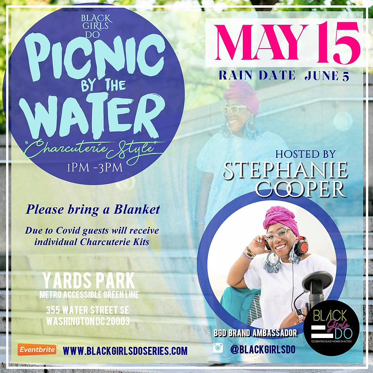 """Black Girls Do: Picnic by The Water  """"Charcuterie Style"""""""