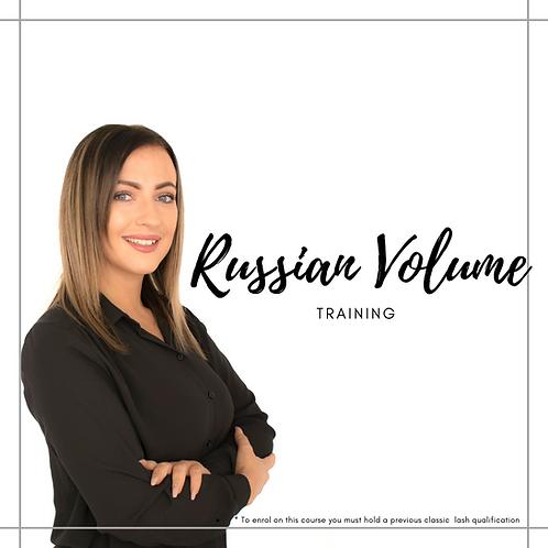 Russian VolumeLash Training