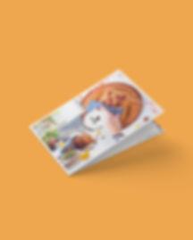 Sinaasappelcake - Receptenkaart - MockUp
