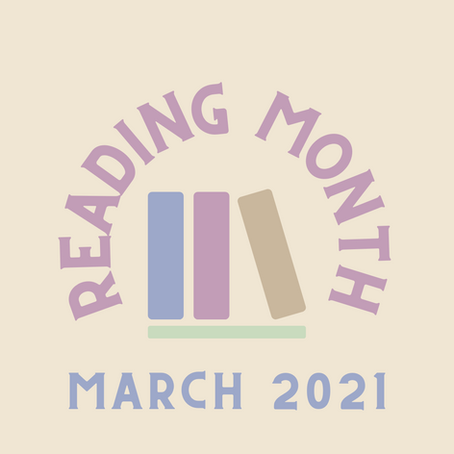 2021 March National Reading Month