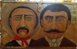 Pancho Villa y Emiliano Zapata $425.