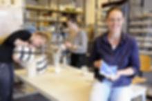fabrique ceramique, marlies crooijmans, keramische productie, achtergond, stagiares, werkplaats,