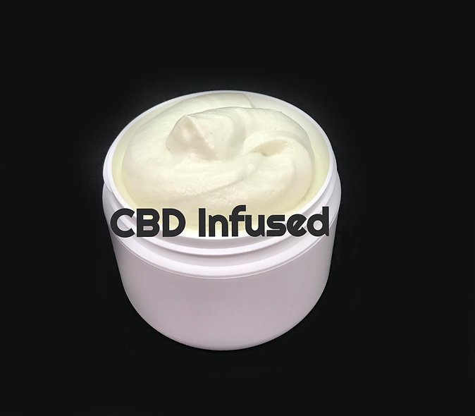 CBD Infused Whipped Shea Butter