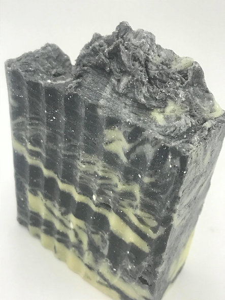 small Black Galaxy (HP) Charcoal Activated Scented Soap