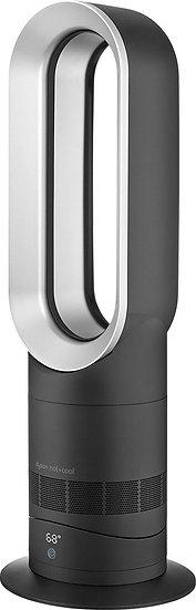 Dyson - AM09 Fan + Heater - Black/Silver