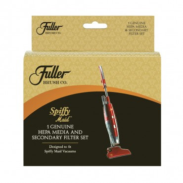 FULLER BRUSH SPIFFY MAID HEPA & FOAM FILTER SET