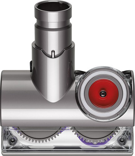 Dyson - Tangle-Free Turbine Tool for Select Dyson Vacuums - Iron/Clear/Purple