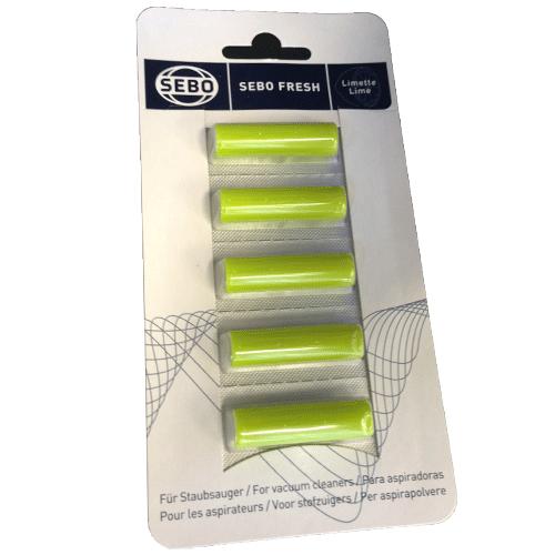 SEBO Fresh Lime Vacuum Air Scent - 5 pack