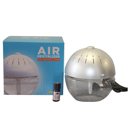 EcoGecko Air Revitalizer With Cleaner Silver UL-75606-0