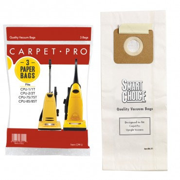 CARPET PRO 3Pk PAPER BAG CPU-350