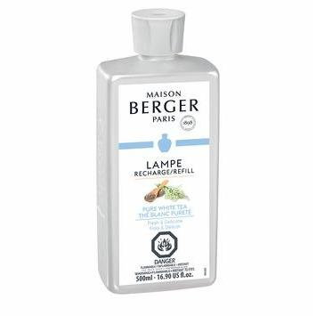 PURE WHITE TEA - LAMPE MAISON BERGER FRAGRANCE 500ML
