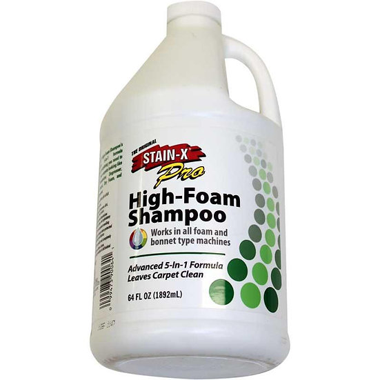 Stain-X High Foam Carpet Shampoo 64OZ