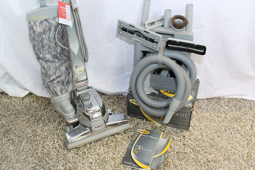 KIRBY VACUUM CLEANER UPRIGHT G7D ULTIMATE W/TOOLS