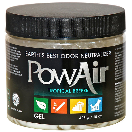 PowAir Tropical Breeze GEL 15OZ