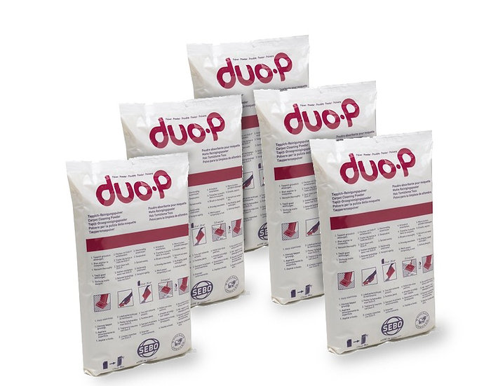 SEBO Duo-P Carpet Cleaning Powder 0472AM- 5 Pack