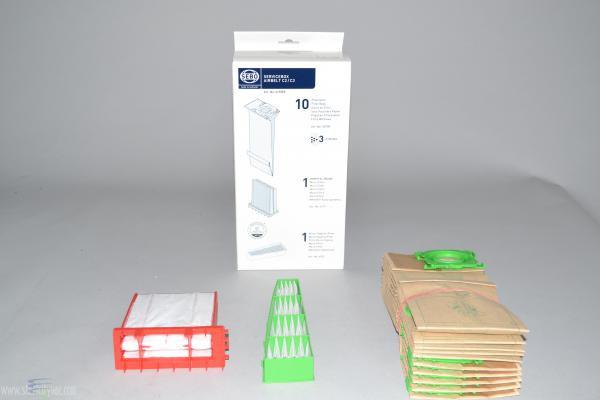SEBO Airbelt C Micro/Hospital-Grade Filter and Bags Service Box