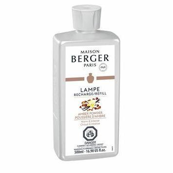 AMBER POWDER - LAMPE MAISON BERGER FRAGRANCE 500ML