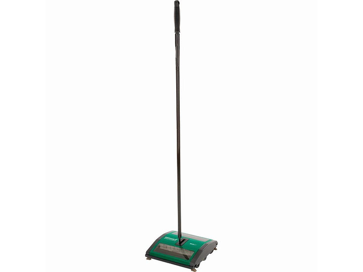 "Bissell Push Sweeper, 7"" Dual Debris Pan"
