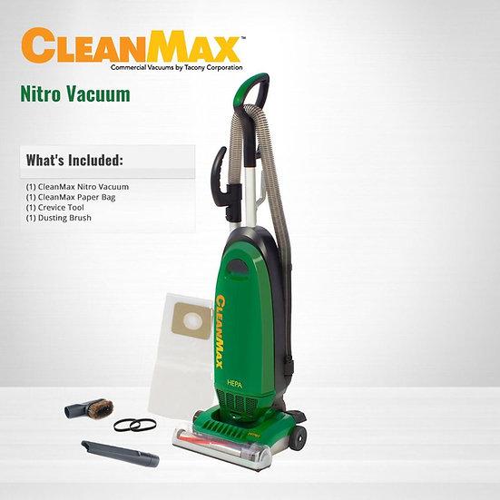 CleanMax Nitro Commercial Upright 3-Wire Vacuum CMNR-QD