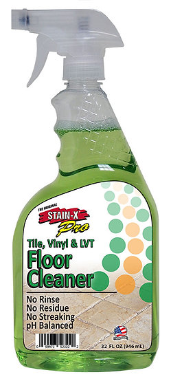 Tile and Vinyl Stain-X Pro Series Cleaner 32 oz CS-8272
