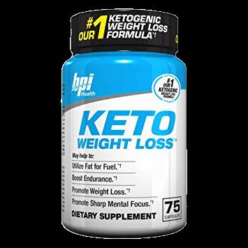 BPI SPORTS KETO WEIGHT LOSS - 75 Caps