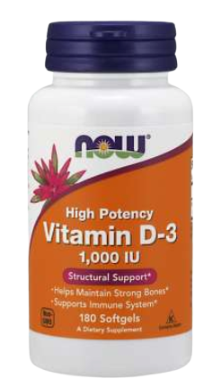 Vitamin D-3 1000 IU Softgels