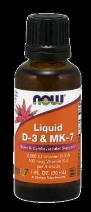 Liquid D-3 & MK-7
