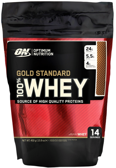 Gold Standard 100% Whey - 450g (14 Servings)
