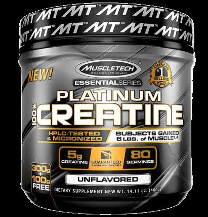 Muscletech Platinum 100% Creatine - 400g
