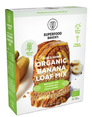 Rise & Shine Organic Banana Loaf Mix