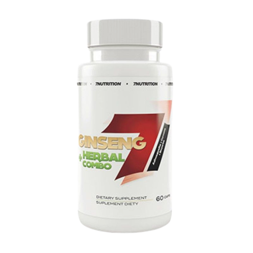 7 Nutrition Ginseng + Herbal Combo -60caps
