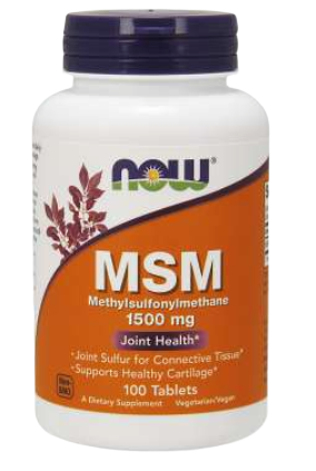 MSM 1500 mg Tablets