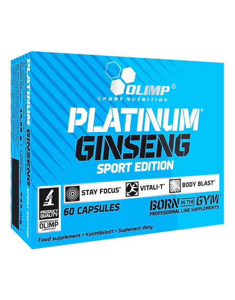 OLIMP Platinum Ginseng 550 - 60caps