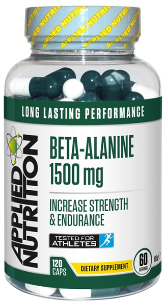 Beta-Alanine, 1500mg - 120 caps (60 Servings)