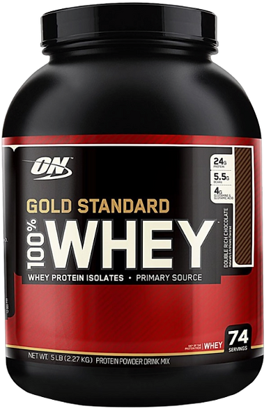 Gold Standard 100% Whey 2240-2270g (74 Servings)