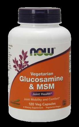 Glucosamine & MSM, Vegetarian Veg Capsules