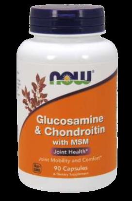 Glucosamine & Chondroitin with MSM Capsules