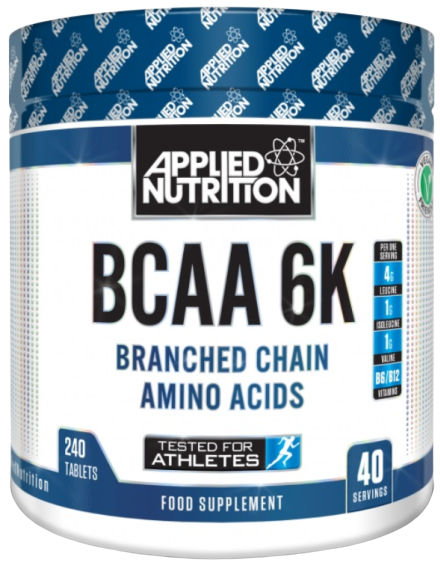 BCAA 6K 4:1:1 - 240 tablets (40 Servings)