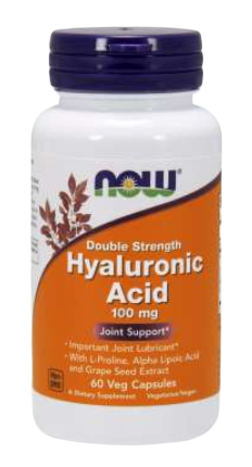 Hyaluronic Acid, Double Strength 100 mg Veg Capsules
