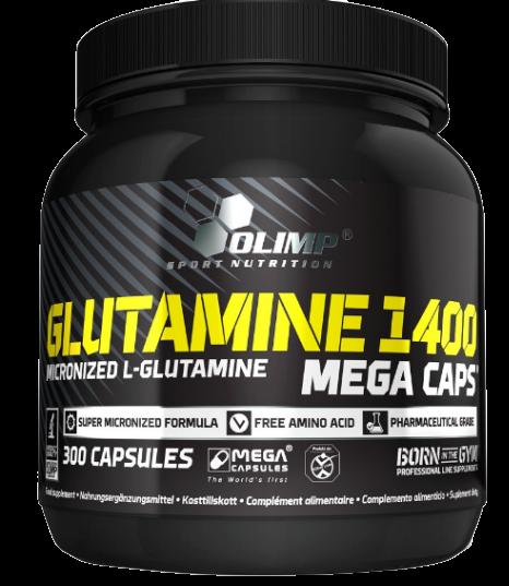 OLIMP Glutamine 1400 Mega Caps - 300 caps