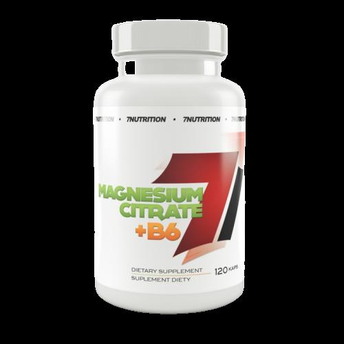 7 Nutrition Magnesium Citrate + B6 - 120 caps
